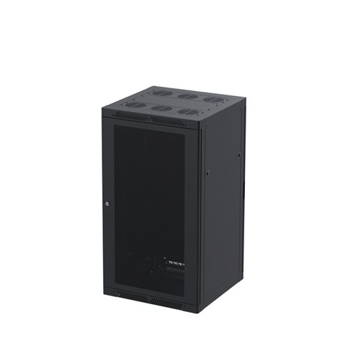Penn Elcom 18U Rack Enclosure M6 Rail 600mm Vented Steel Door R4066-V-18UK  - 点击查看大图