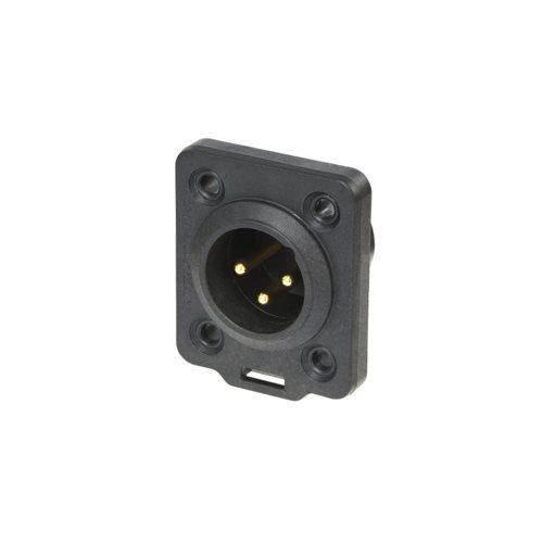 Neutrik XLR 3 Pin Male Heavy Duty  IP65 NC3MDX-TOP
