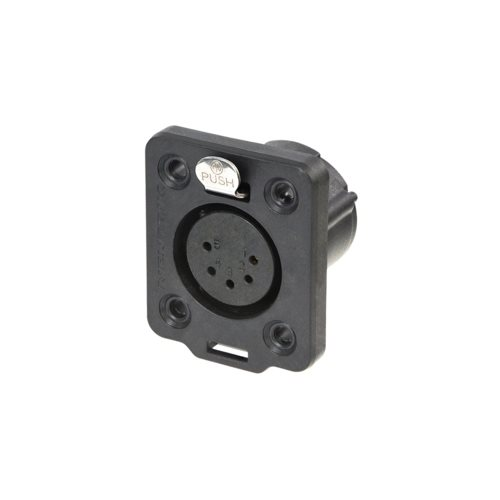 Neutrik XLR 5 Pin Female Heavy Duty Chassis IP65 TOP NC5FDX-TOP