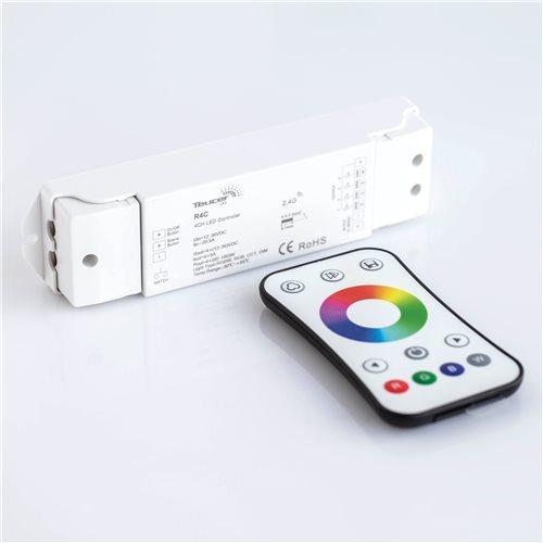 Teucer Led Lr-rgbw Single Zone RGBW Remote&Receiver Blister Pack LR-RGB/RGBW + R4C  - 点击查看大图