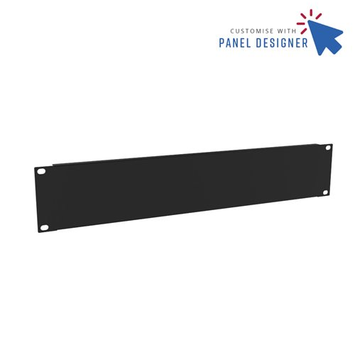 Penn Elcom 2U Custom Panel Designer Blank CRP-R1268/2UK  - 点击查看大图