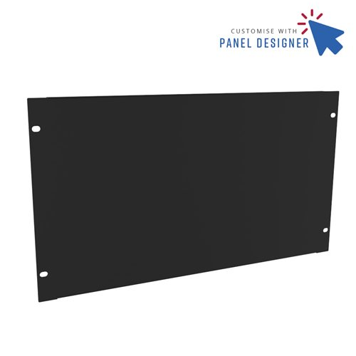 Penn Elcom 6U Custom Panel Designer Blank CRP-R1268/6UK  - 点击查看大图