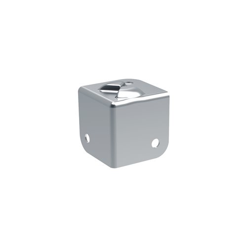 Penn Elcom Flat Corner With Interlocking Cut-Outs C7082Z-STACK  - Click to view a larger image