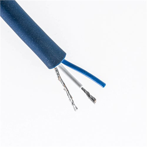 Penn Elcom Studio Series Microphone Cable (Blue, 6.5mm, 2-Core) CAMA10B  - Click to view a larger image