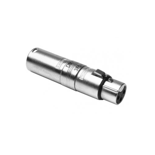 Amphenol 3 Pin Female -5 Pin Male Adapter AC3F5MW  - Click to view a larger image
