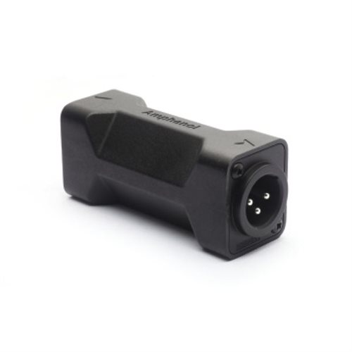 Amphenol D Shell Male To Male 3 Pin Adapter AC3M3MDW  - Click to view a larger image