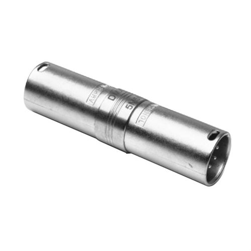 Amphenol XLR Adapter 5 Pin Male To 5 Pin Male AC5M5MW  - Click to view a larger image