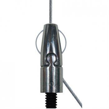 Gripple ANGLE NO.1 (0-10KG) SIDE EXIT M4 MALE X 4M + M6 TOPHAT FIX GRANGSFM420