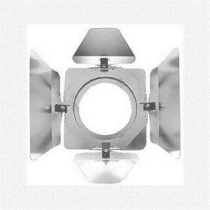 Highlite Barn Doors Silver for Par 16  Can 30106