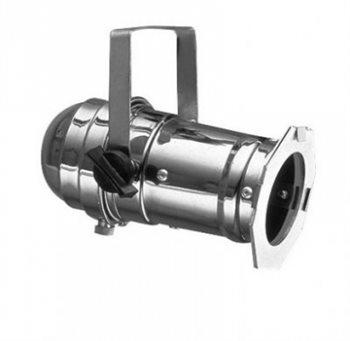 Highlite Par 16 Can  Polished  with Gel Frame GU10 240v 30116
