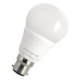 Integral LED Classic A 40 240Deg Dim 6.6W 27K BC Classic Integral 60-39-79