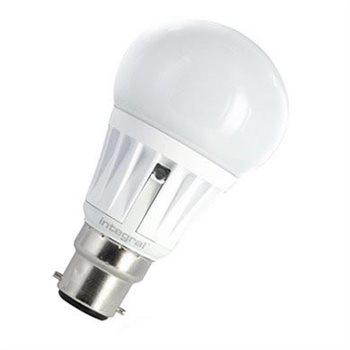 Integral LED Classic A 40 280Deg Auto-sensor 6.5W 27K BC Opal 19-63-10
