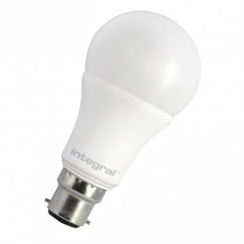 Integral LED Classic A 60 240Deg Dim 10.5W 27K BC Opal 74-85-24