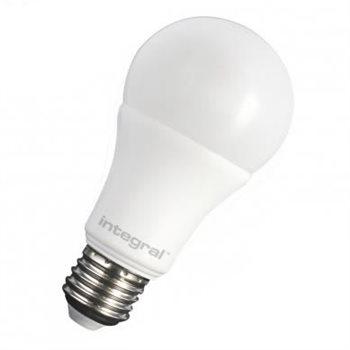 Integral LED Classic A 60 240Deg Dim 10.5W 27K ES Opal 80-14-55
