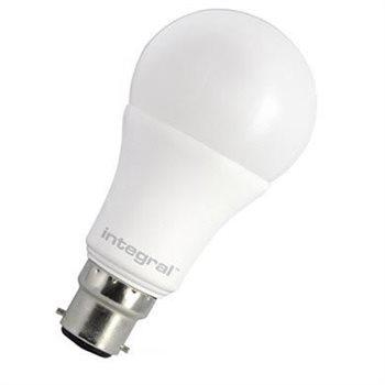 Integral LED Classic A 60 240Deg Non Dim 9.2W 27K BC Opal 77-79-14