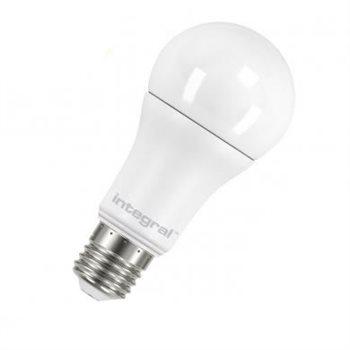 Integral LED Classic A 75 240Deg Dim 12W 27K ES Opal 21-05-58