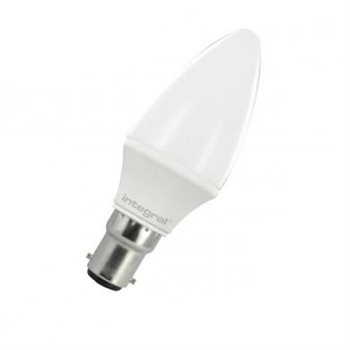 Integral LED Classic B 15 Non Dim 3.5W/3K SBC Candle Opal 95-10-59