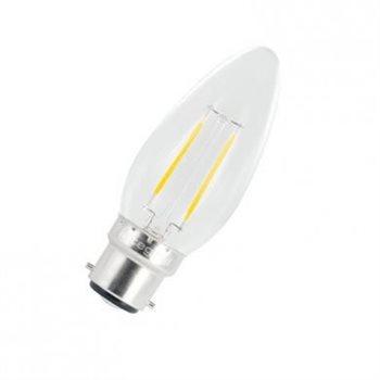 Integral LED Classic B 25 Non Dim 2W/27K BC Filament Omni Candle 54-49-35