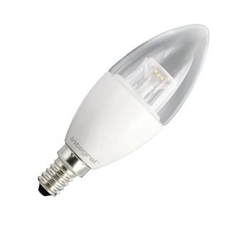 Integral LED Classic B 40 Dim 6.5W/27K SES Clear Candle 47-16-92  - Click to view a larger image