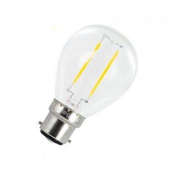 Integral LED Classic P 25 Non Dim 2W/27K BC Filament Omni Mini Globe 37-59-68