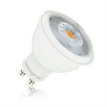 Integral LED Par 16 50 36Deg Non Dim 6.8W / 2.7K GU10 COB 80-37-88