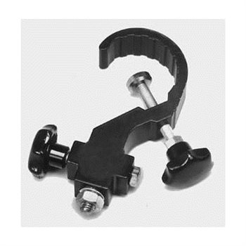 Metalworx Aluminium Lantern Clamp Black 2in Metalworx M1884K