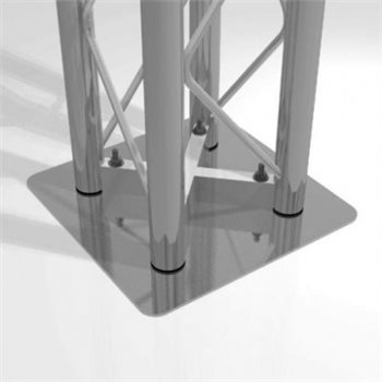 Metalworx Square Truss Flat Base ST-System ST-System ST25FB