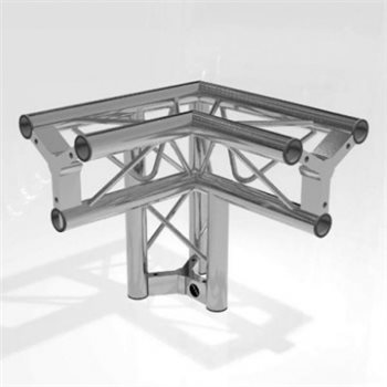 Metalworx Tri Truss 2 Way Junction with leg Apex Down TT252AL