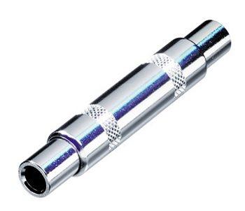 Neutrik Adaptor 6.3 Jack to 6.3 Jack Stereo Coupler Metal NYS238