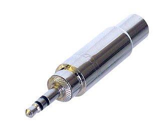 Neutrik Adaptor 3.5 Stereo Jack Plug To 6.3 Stereo Jack Socket NYS227