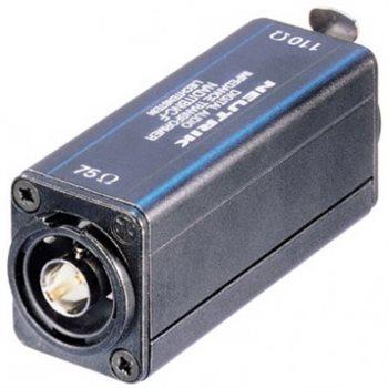 Neutrik Adaptor AES/EBU (110R/75R) BNC-XLR F NADITBNC-F