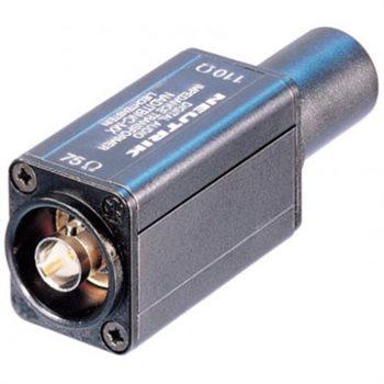 Neutrik Adaptor AES/EBU (110R/75R) BNC-XLR M Plug NADITBNC-MX