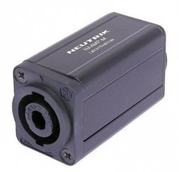 Neutrik Adaptor NL4MP to Male XLR Plug NA4MP-M NA4MP-M