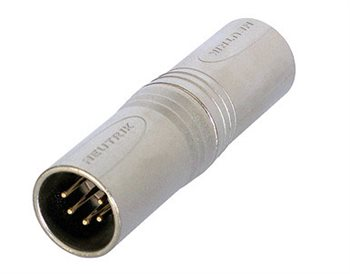 Neutrik Adaptor XLR 5 Pin Male to XLR 5 Pin Male NA5MM