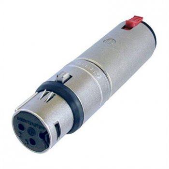 Neutrik Adaptor XLR Female to 1/4in Stereo Jack Socket NA3FJ NA3FJ