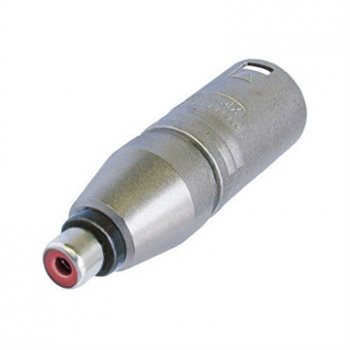 Neutrik Adaptor XLR Male to Phono Socket NA2MPMF