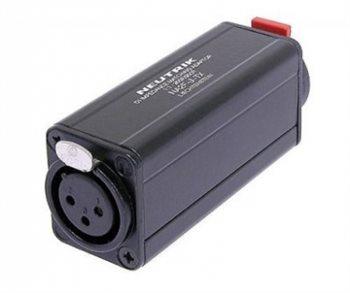 Neutrik DI Impedance Matching FX/Jack 1:1 NA2F-J-TX