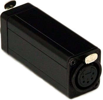 Neutrik In-Line DMX Adaptor To Join RJ45 CAT5 To Female 5 Pin XLR DMX-CAT5-F