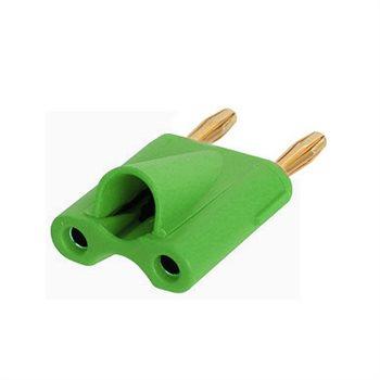 Neutrik Double Banana Plug Green NYS508-GN