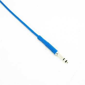 Neutrik Bantam Lead 4.4mm Bantam Plug - 1ft Blue Neutrik REAN Assembly NRA-TT 1FT-BLUE