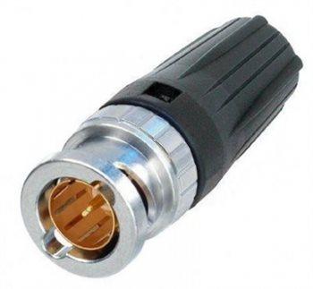 Neutrik BNC Cable Cable Tiny Rear Twist NBTC75BLI4 NBTC75BLI4