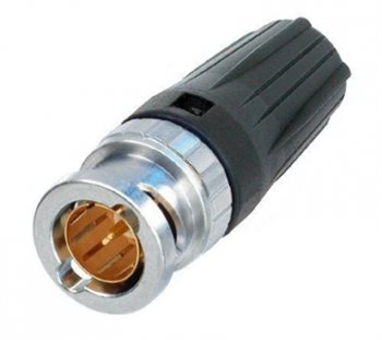Neutrik BNC Rear Twist Cable Connector NBNC75BRU11