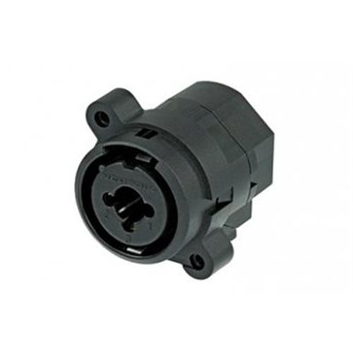 Neutrik XLR 3 Pin Female Receptacle Vertical PCB Mount NCJ6FI-V-0  - Click to view a larger image