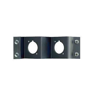 Neutrik Panel Frame Plate 2 D Size Cutouts Neutrik NZPFD-2  - Click to view a larger image