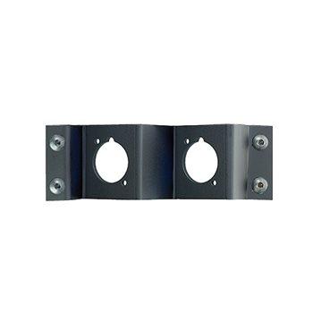 Neutrik Panel Frame Plate 2 D Size Cutouts Neutrik NZPFD-2