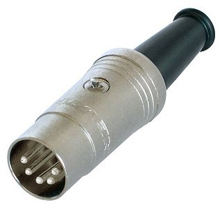 Neutrik Din Plug 5 Pole Cable NYS322