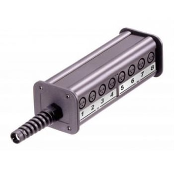Neutrik Stage Box 12 in 4 out Type C Modular NSB2C-12/4 REAN by Neutrik NSB2C-12/4