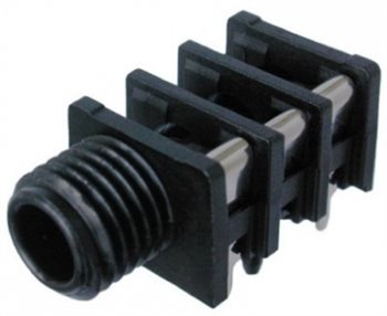 Neutrik Jack Socket 6.3mm Stereo Slimline PCB NRJ6HF NRJ6HF