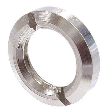 Neutrik Nickel plated metal ring nut NRJ-NUT-MS