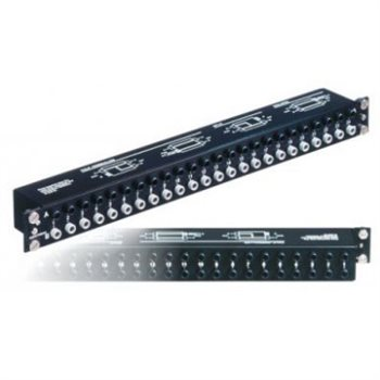 Neutrik Patch Panel 1/4in Modular 48 Balanced Channels In One Rack Space NYS-SPP-L1
